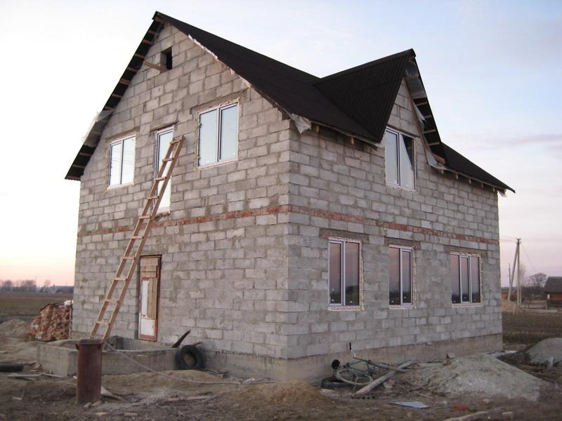 Двухэтажный дом своими руками фото