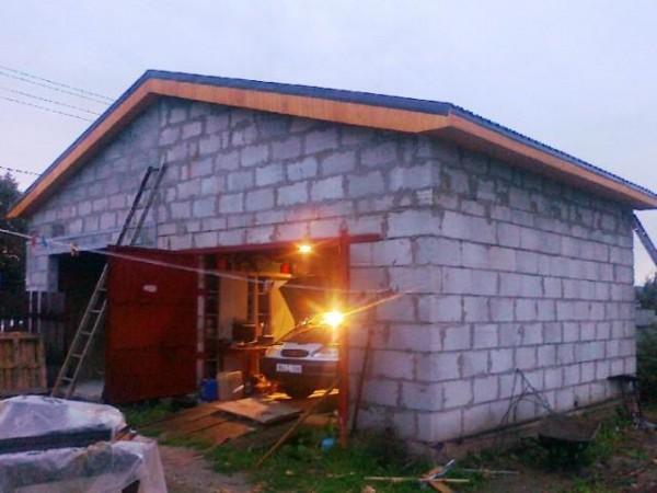 Олег как правильно построить гараж своими руками цена